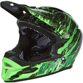 O'Neal Fury RL Casco, crawler-black/green